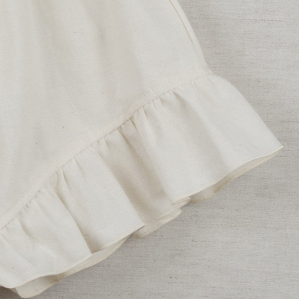 【SUMMER SALE 20%OFF】 Loose-fitting natural-coloured shorts img3