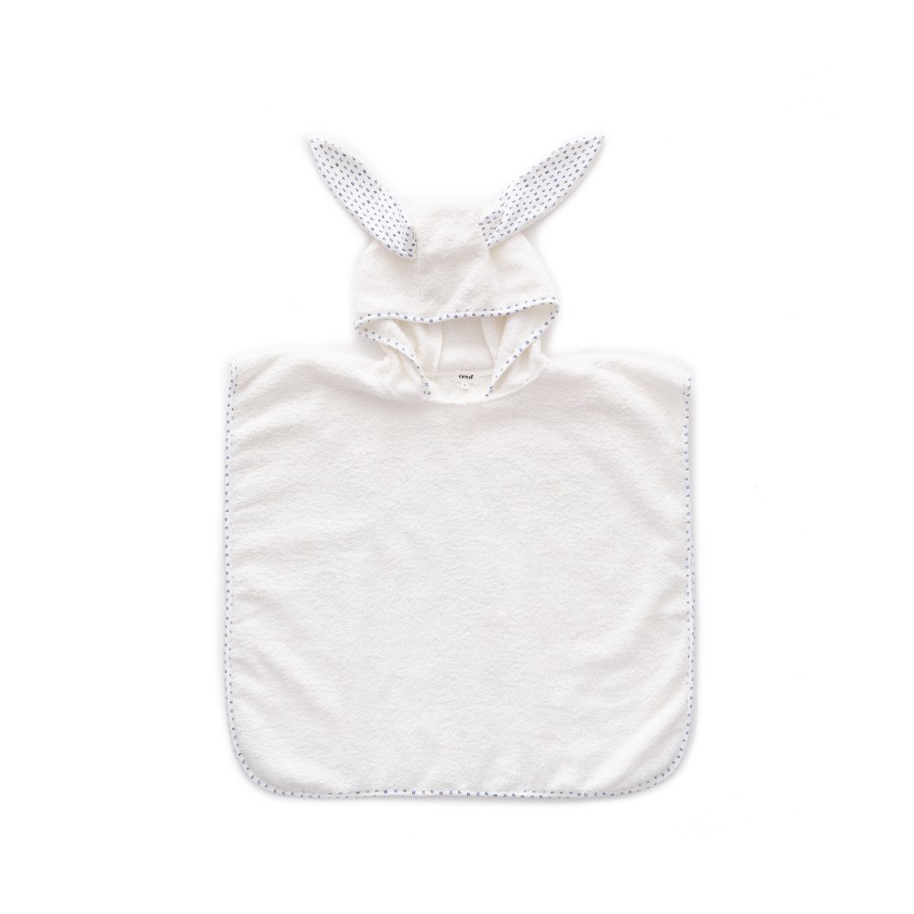 Terry Poncho white / numbers img