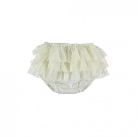 【40%OFF】S10419. Triple Ruffle Tulle culotte