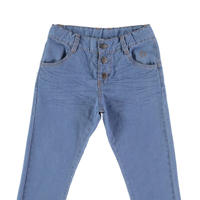 S12319. Recycled denim trousers img1