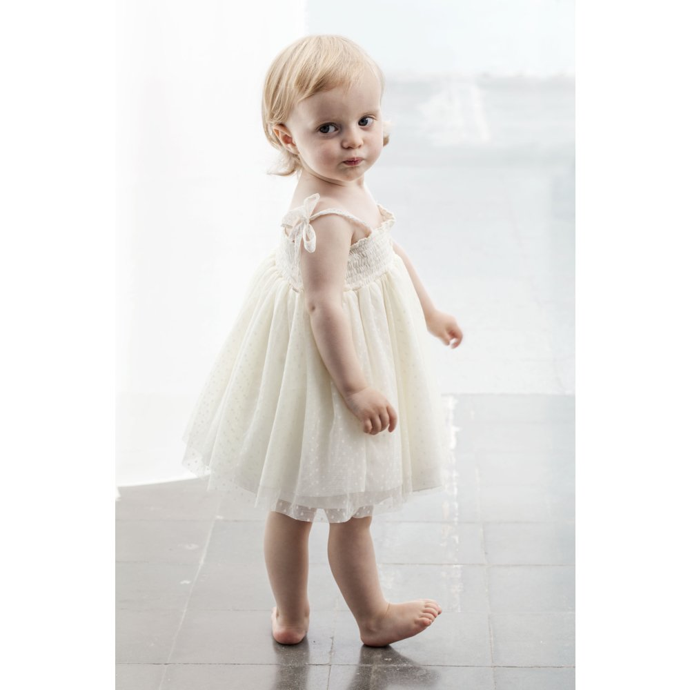 S30219. Tulle baby dress img4