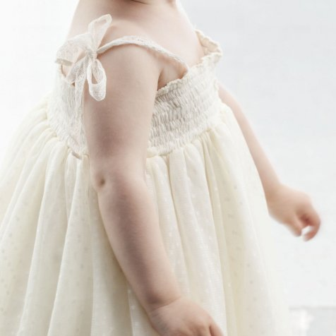 【SUMMER SALE 20%OFF】 S30219. Tulle baby dress
