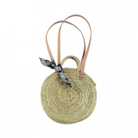 【40%OFF】S73219. Straw round bag