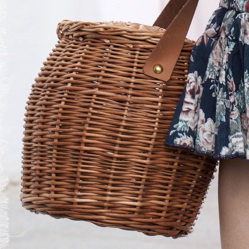 S74119. Birkin straw bag img9