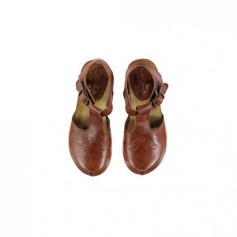 【30%OFF】S919. Rainbow leather clogs
