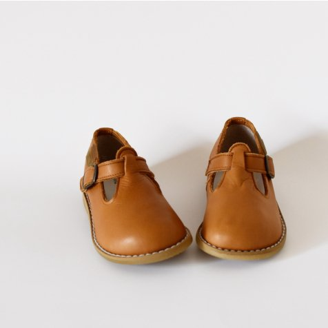 【SUMMER SALE 20%OFF】 T-Strap CAMEL