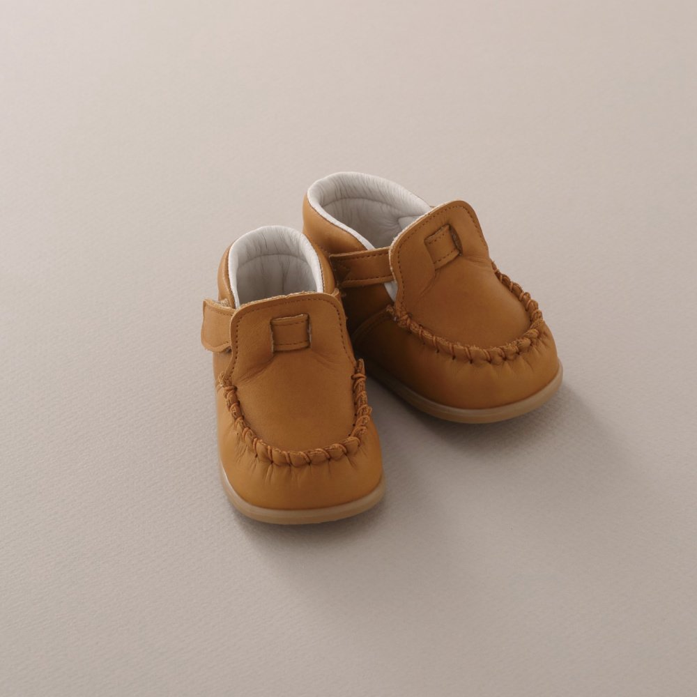 【SUMMER SALE 20%OFF】 Baby Moccasin CAMEL img