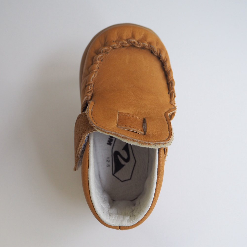 【SUMMER SALE 20%OFF】 Baby Moccasin CAMEL img2