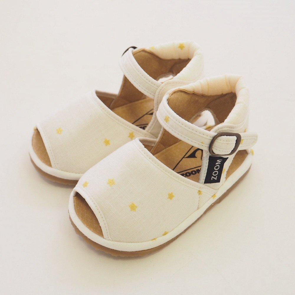 【SUMMER SALE 20%OFF】 Check & Stripe Star Sandal GOLD img3