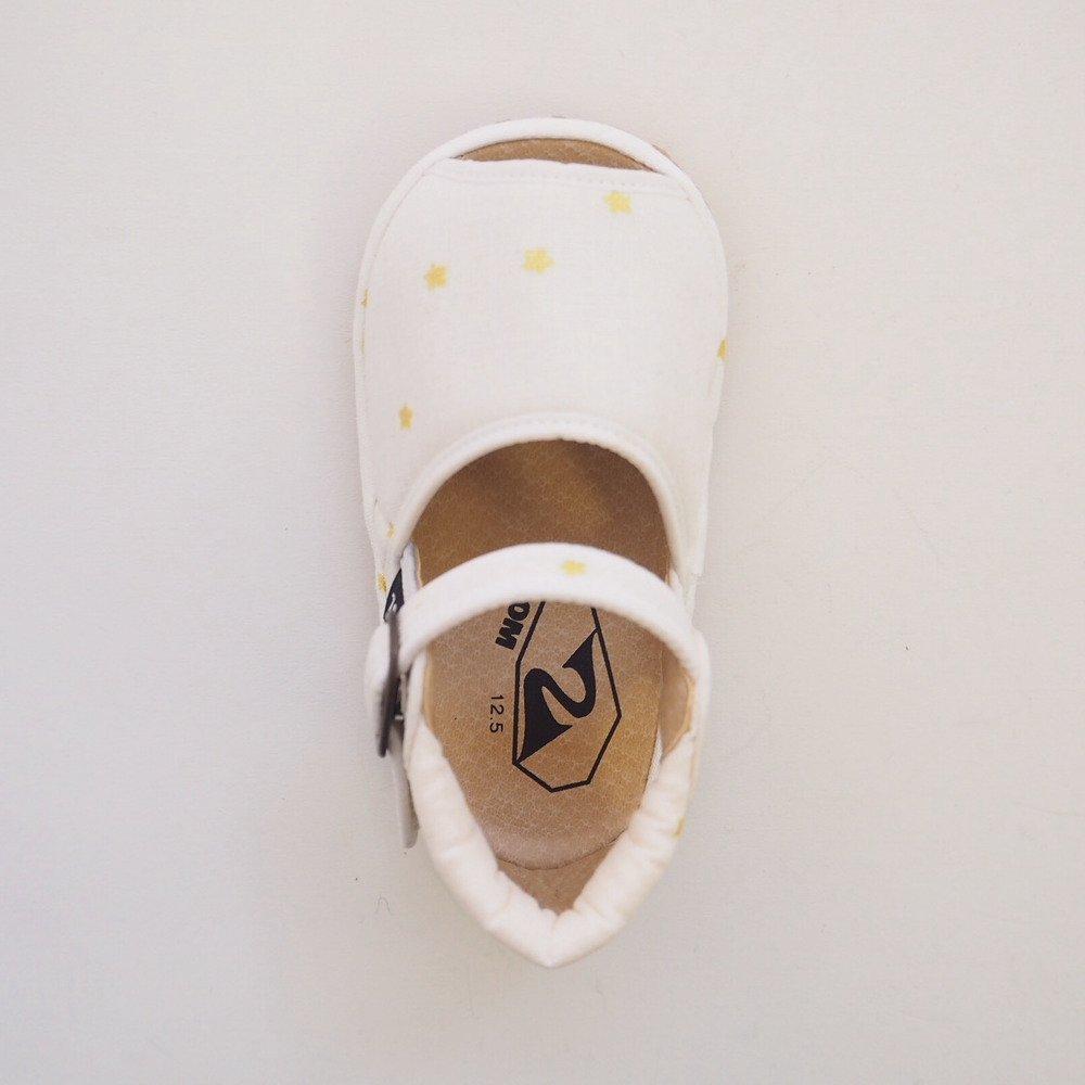 【SUMMER SALE 20%OFF】 Check & Stripe Star Sandal GOLD img4