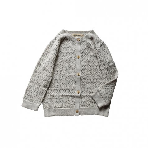 【SUMMER SALE 20%OFF】 Diamond cardigan Grey
