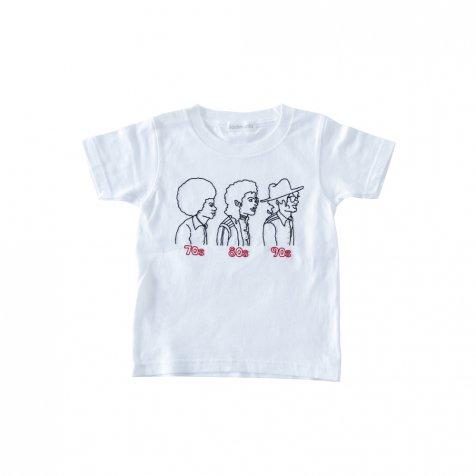 70s 80s 90s T-Shirt white