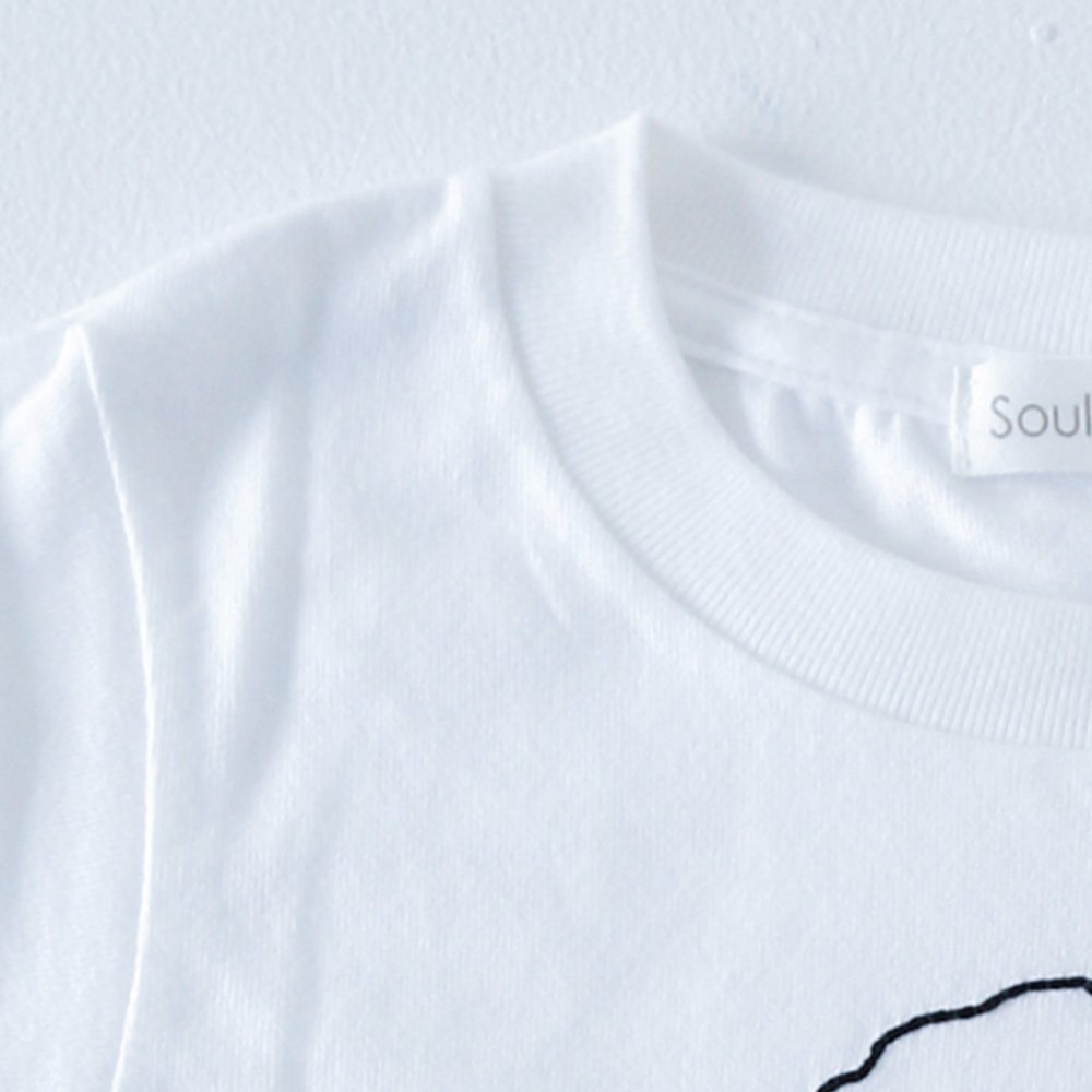 BLACKBEAT T-Shirt white img2