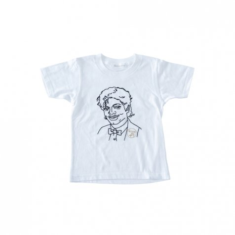KING OF POP T-Shirt white