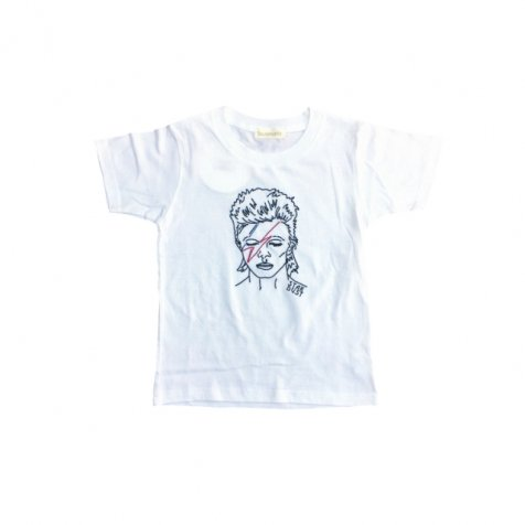 STAR DUST T-Shirt white