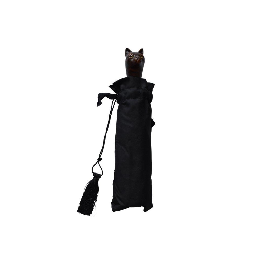 folding umbrella 晴雨兼用折りたたみ傘 cat noir img