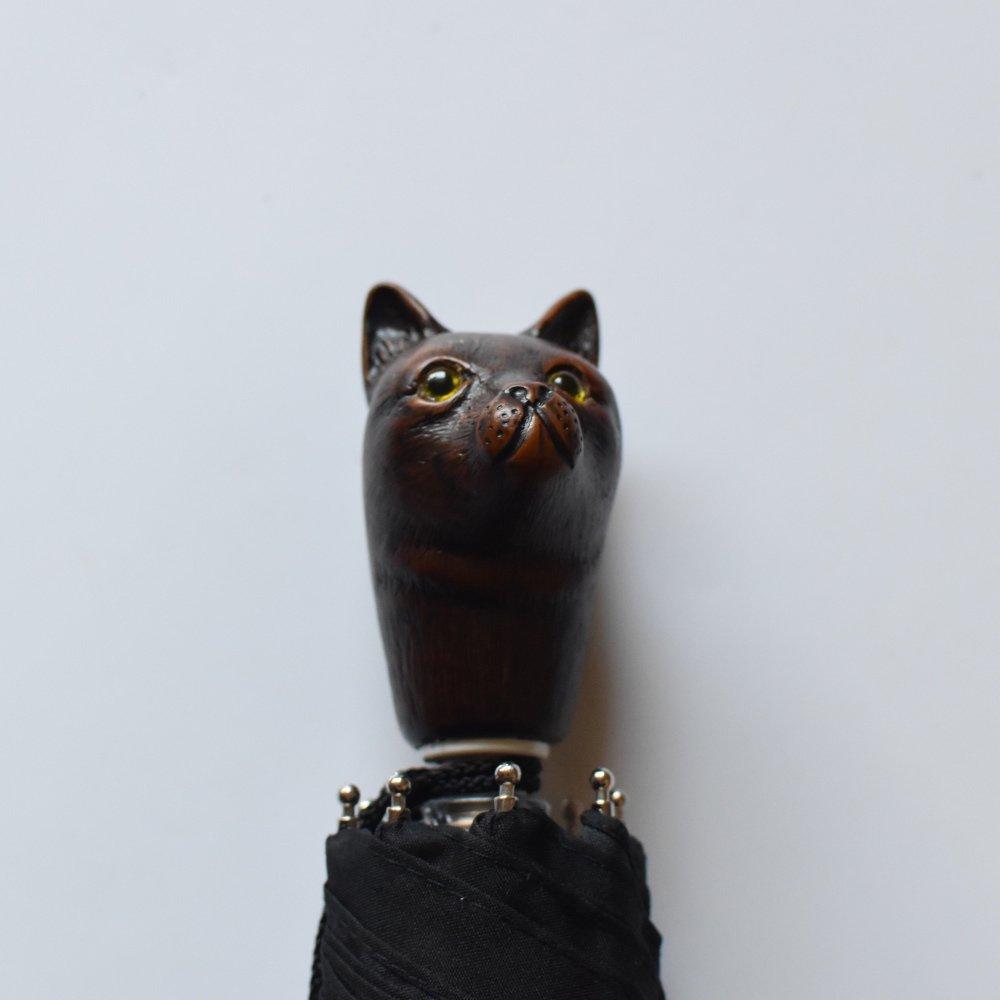 folding umbrella 晴雨兼用折りたたみ傘 cat noir img4