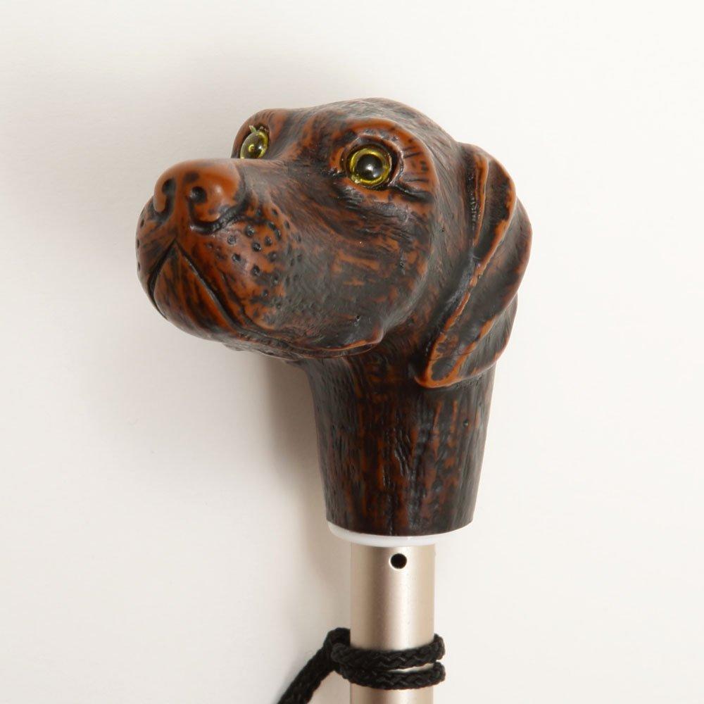 folding umbrella 晴雨兼用折りたたみ傘 dog noir img1