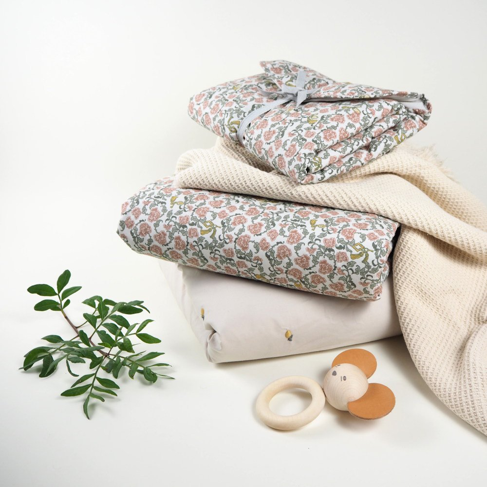 【追加販売】Floral Vine Filled Blanket img8