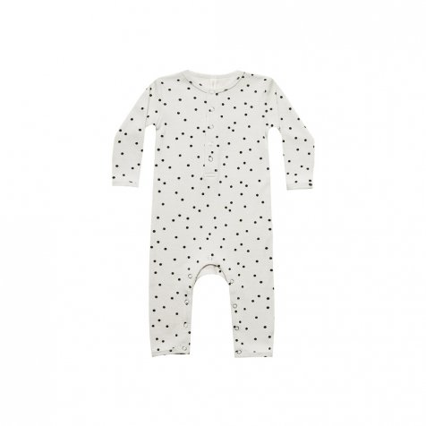 Ribbed Baby Jumpsuit Pebble