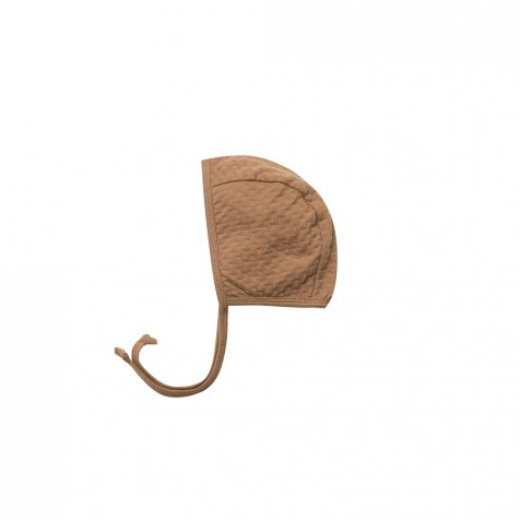 【25%OFF】Pointelle Baby Bonnet Copper