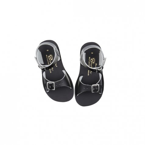Salt-Water SunSan Surfer Sandal Black