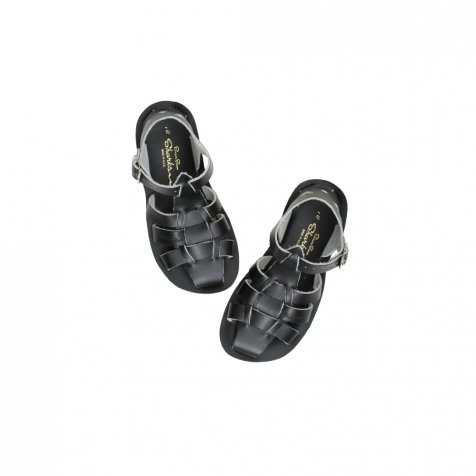 Salt-Water Shark Sandal Black