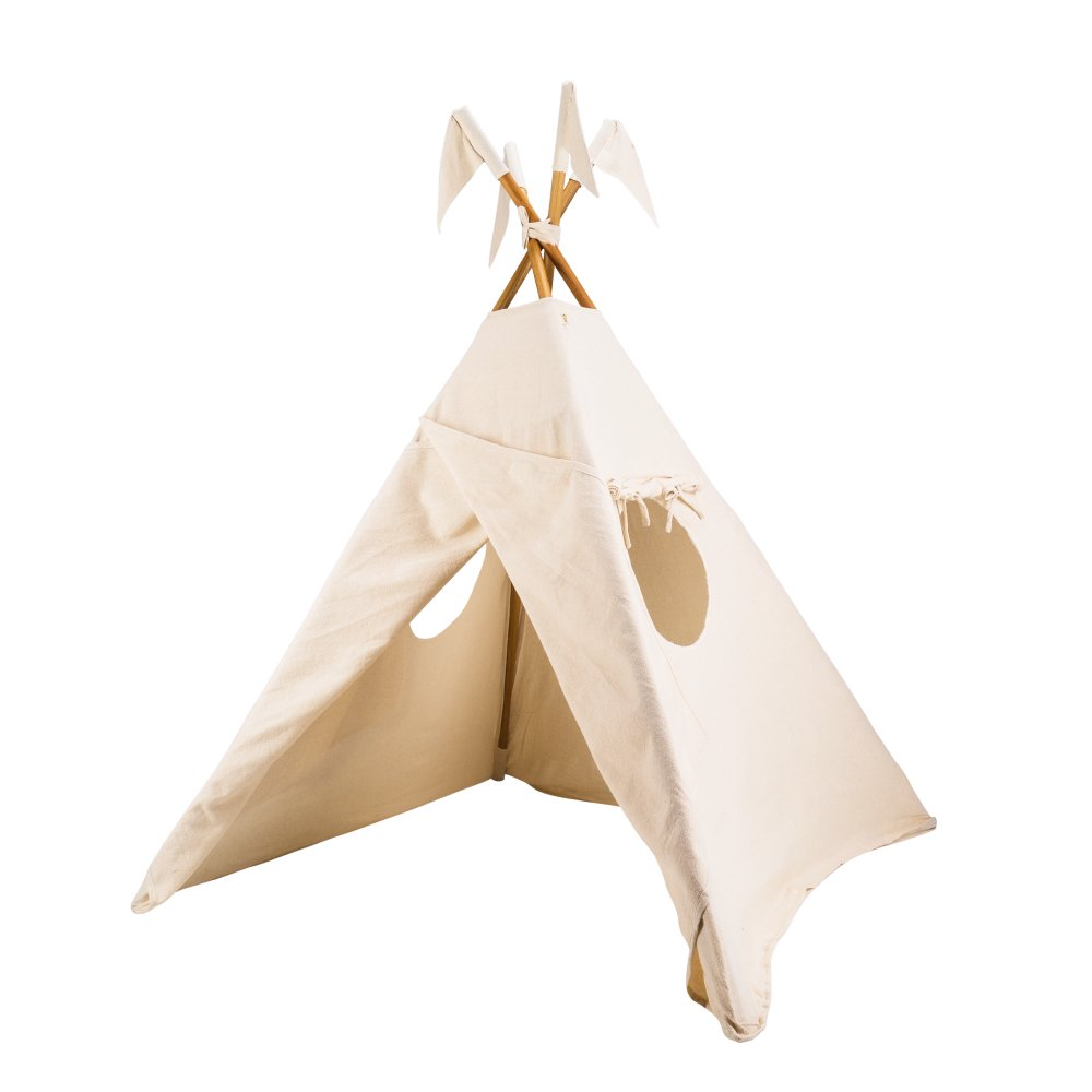Tipi Tent Thai cotton Natural img