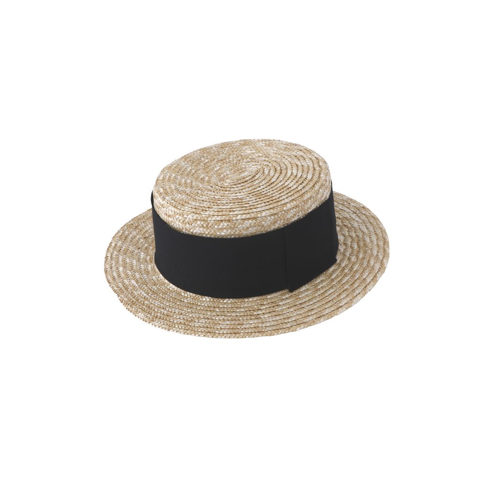 【SUMMER SALE 10%OFF】 Canotier Wide Hat Kid / Adult img