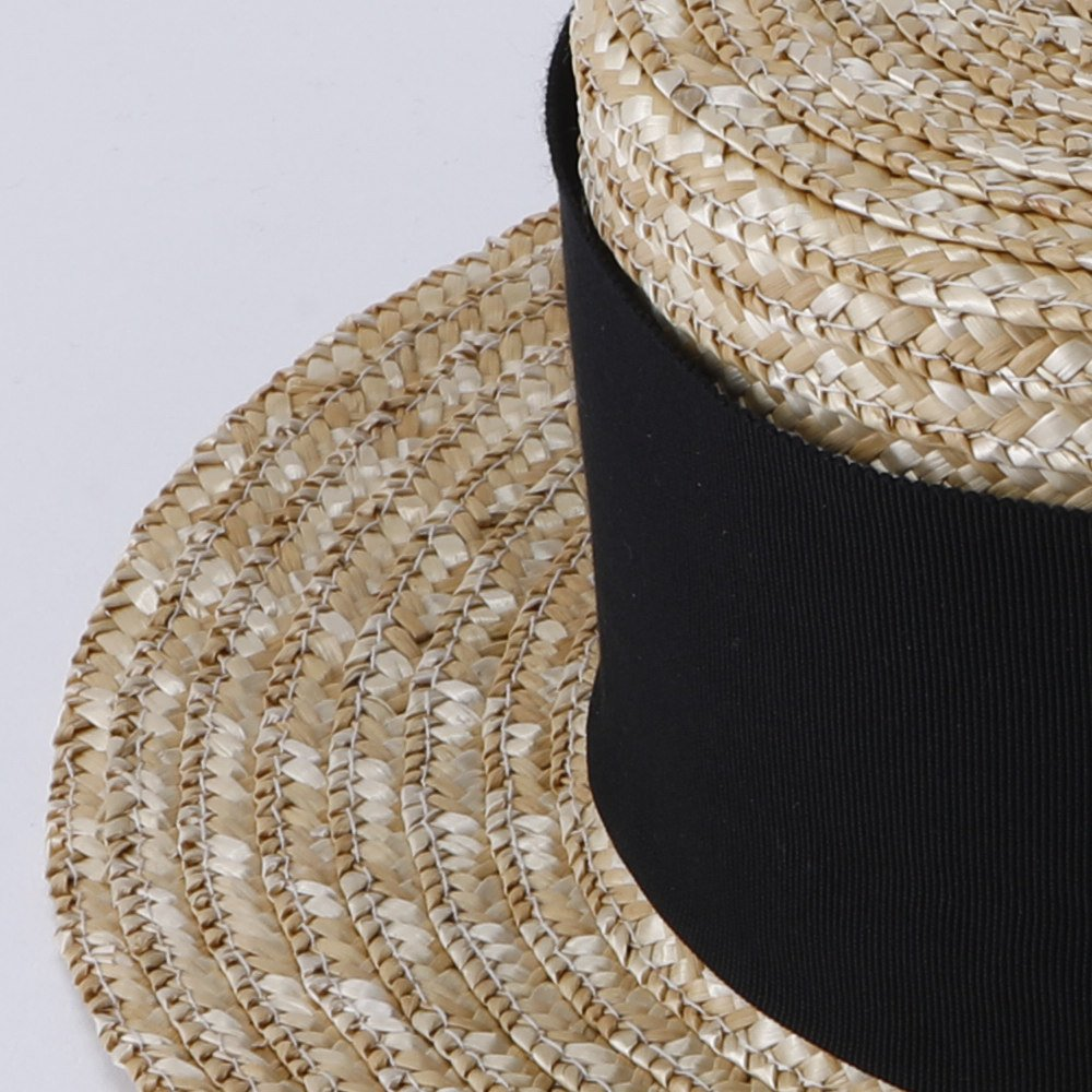 【SUMMER SALE 10%OFF】 Canotier Wide Hat Kid / Adult img1