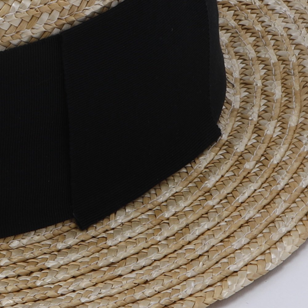 【SUMMER SALE 10%OFF】 Canotier Wide Hat Kid / Adult img2