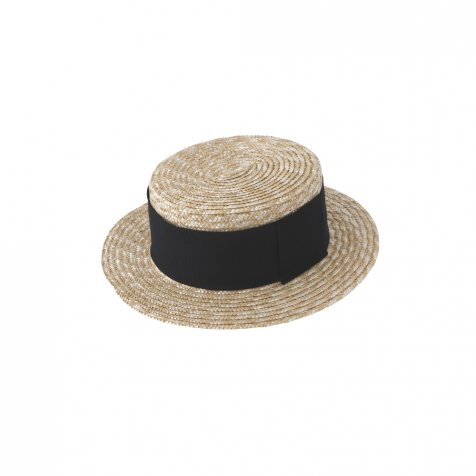 【SUMMER SALE 10%OFF】 Canotier Wide Hat Kid / Adult