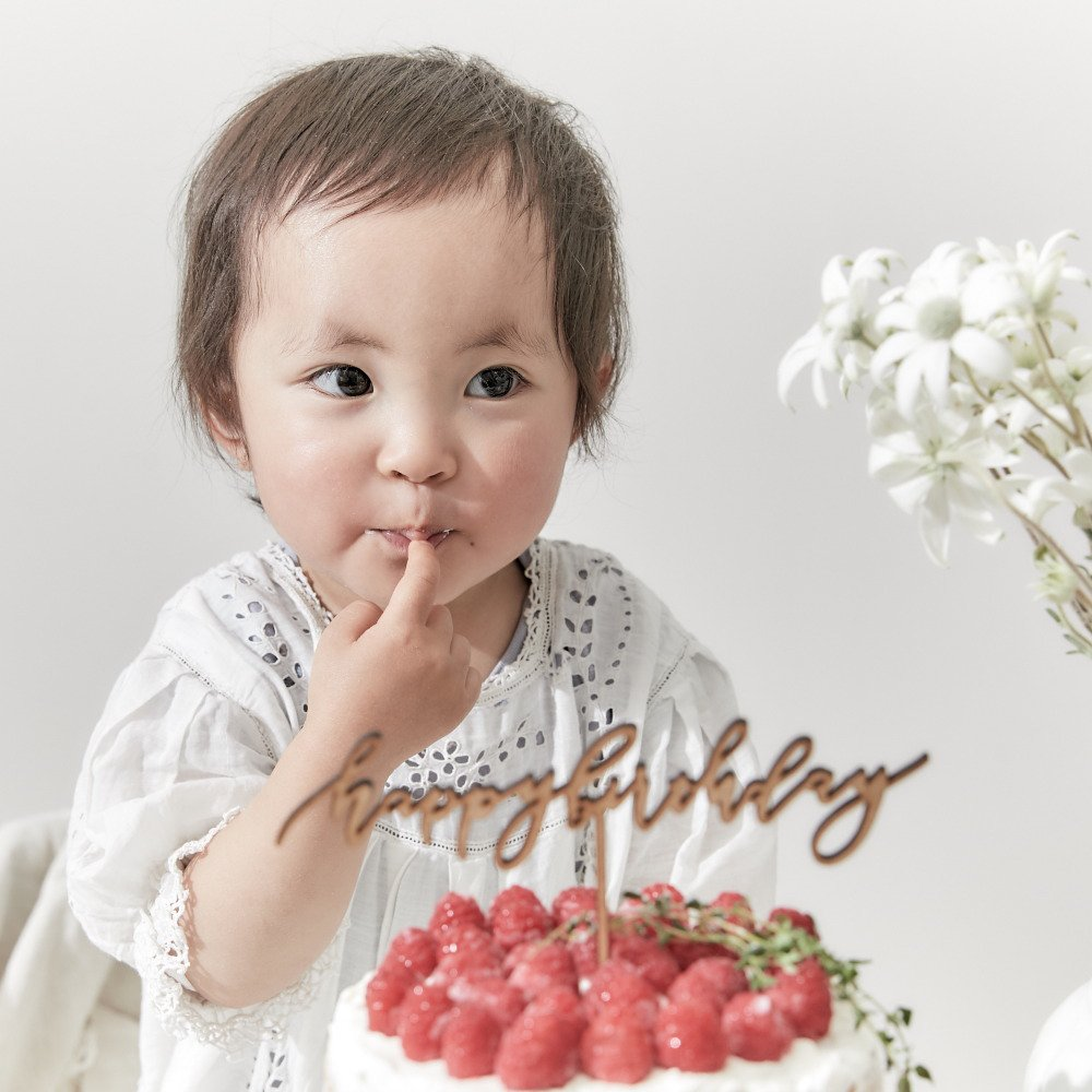 ケーキトッパー happy birthday by Maki Shimano mini img4