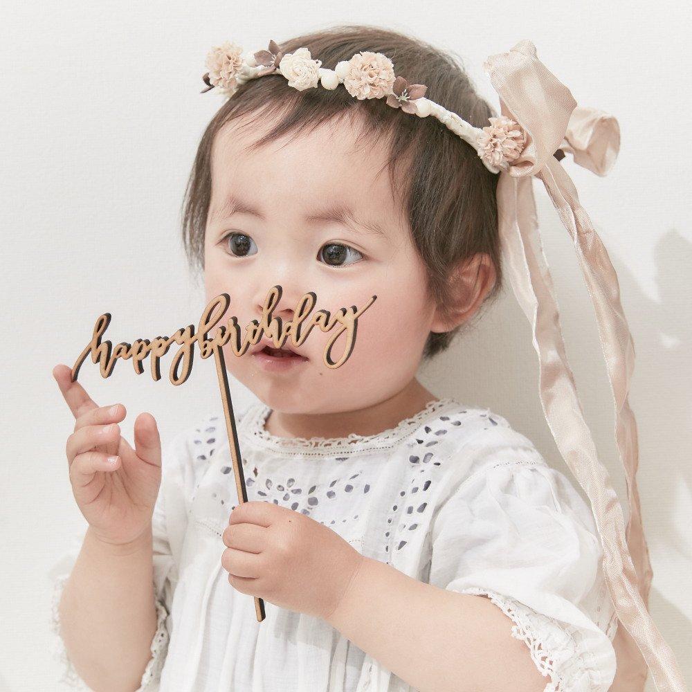ケーキトッパー happy birthday by Maki Shimano mini img5