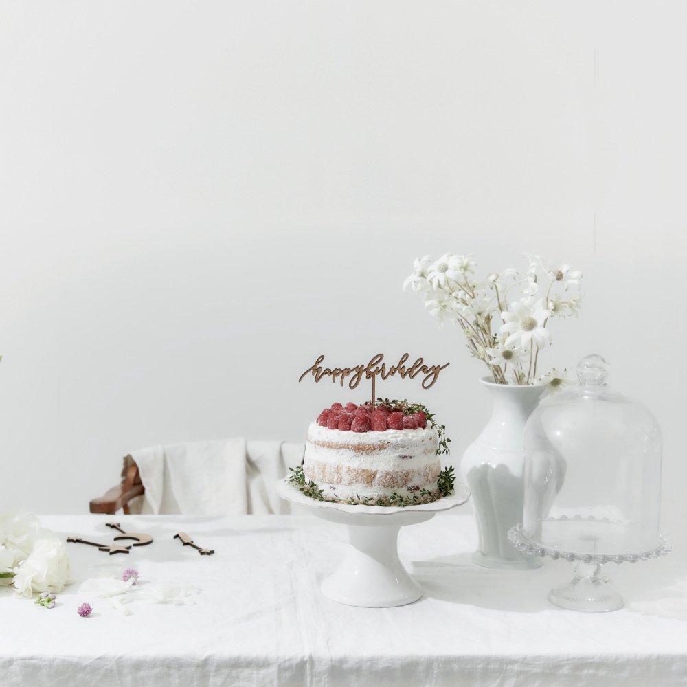 ケーキトッパー happy birthday by Maki Shimano mini img7