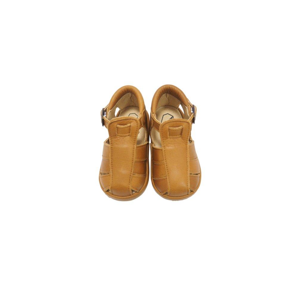 【SUMMER SALE 20%OFF】 Baby Sandal CAMEL img