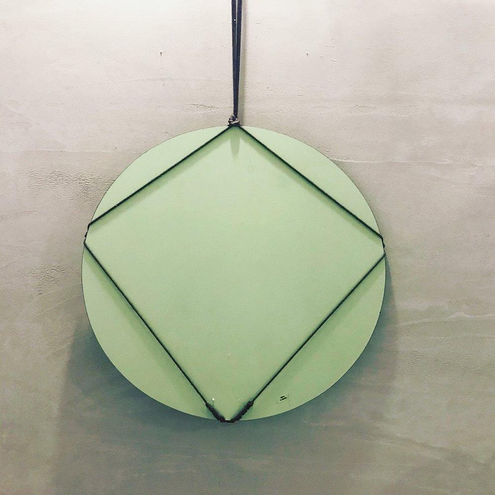 【SUMMER SALE 30%OFF】 Cordage Frameless Mirror Round Medium img1
