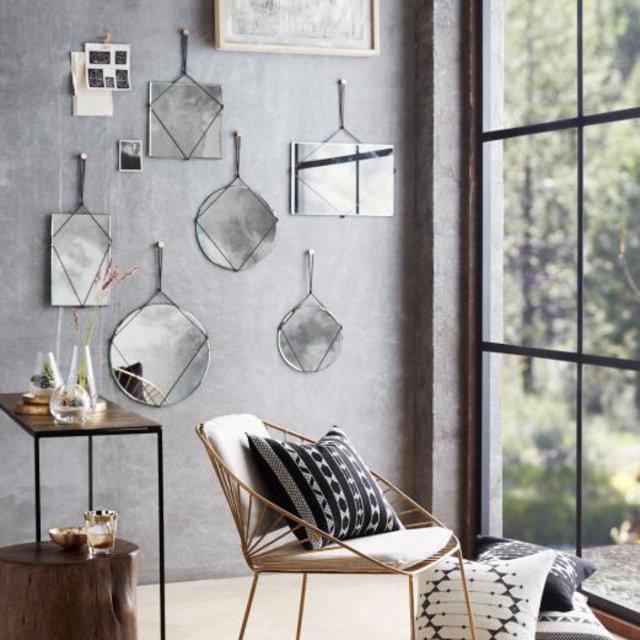 【SUMMER SALE 30%OFF】 Cordage Frameless Mirror Round Medium img4