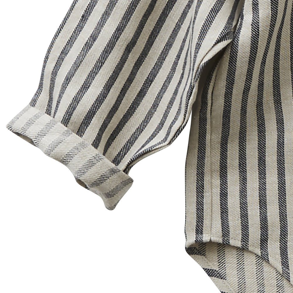 stripe linen shirts img2