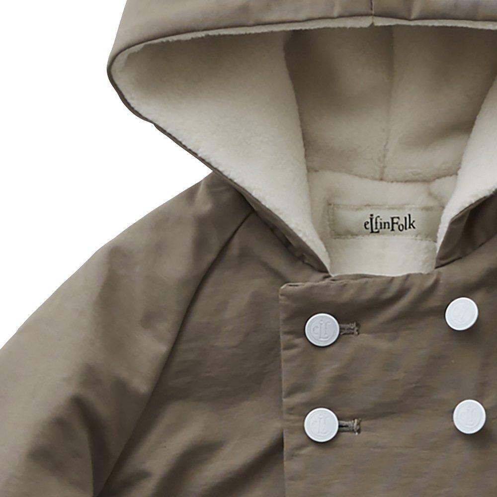 【8月入荷予定】elf coat mocha img1