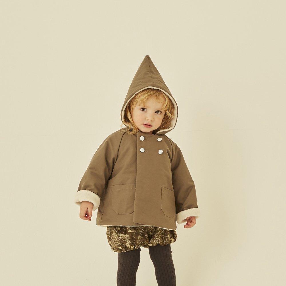 【8月入荷予定】elf coat mocha img5