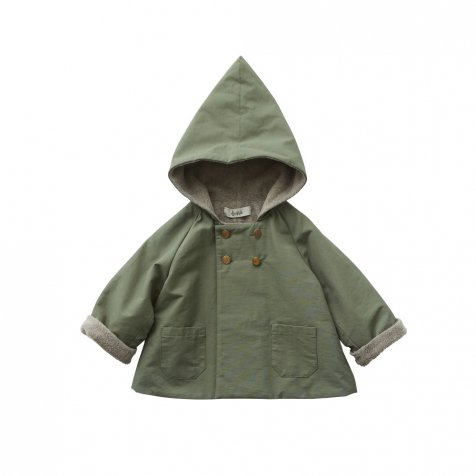 elf coat sage green