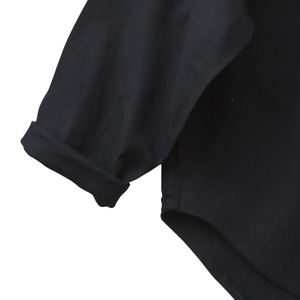 C/L washer shirts black img2