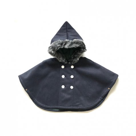 【8月入荷予定】freece baby mantle navy