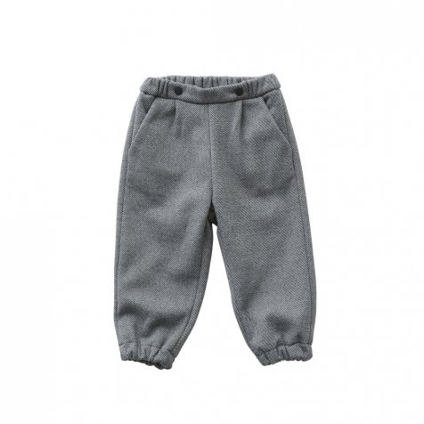 【40%OFF】fleece pants gray