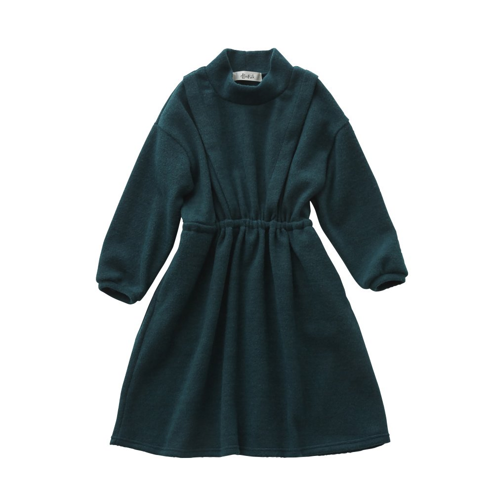 melange dress green img