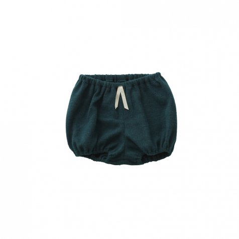 melange bloomers green