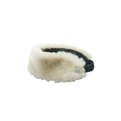 fur turban by CA4LA × eLfinFolk ivory