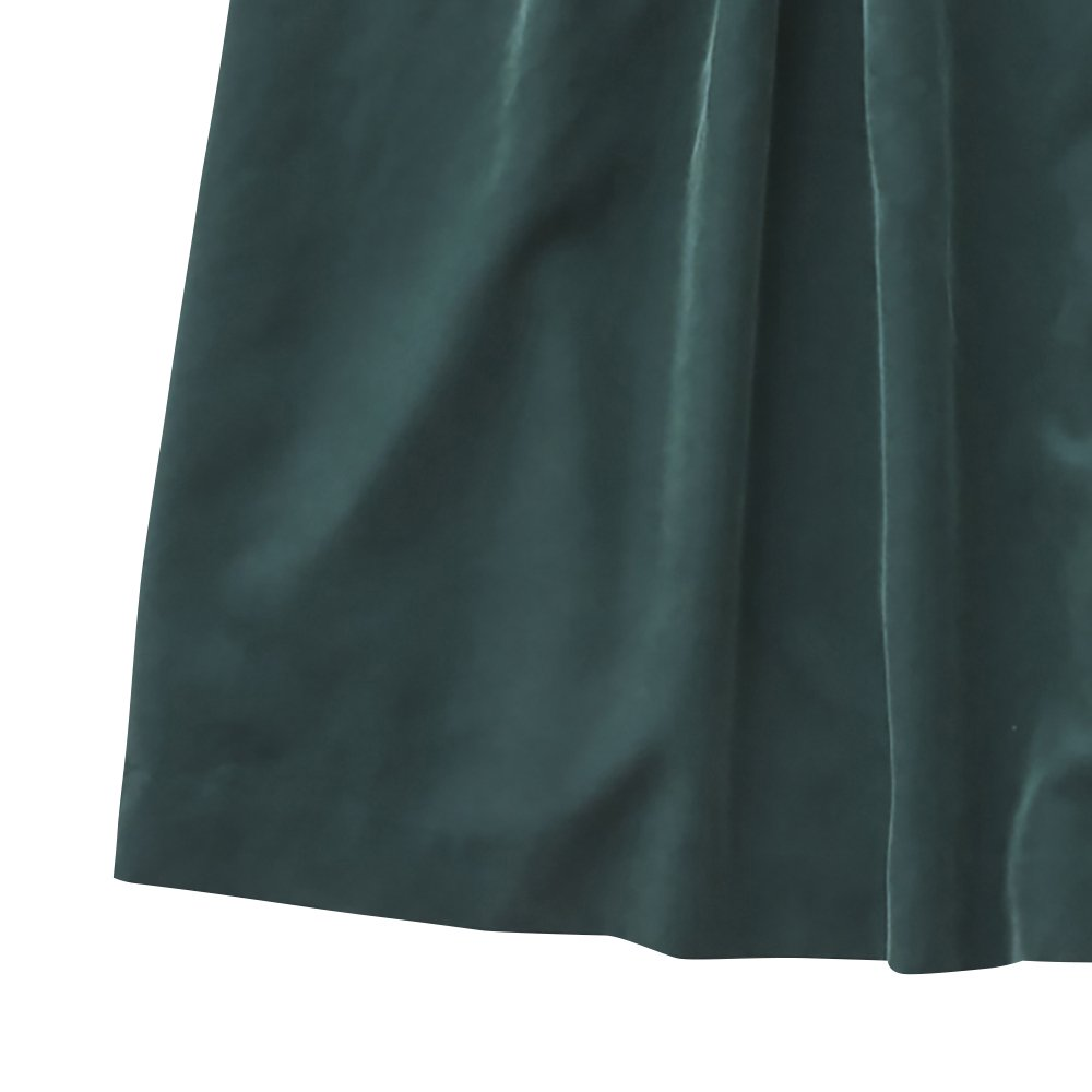 modal belted long dress green - adult img3