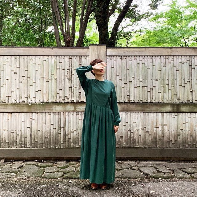 modal belted long dress green - adult img6